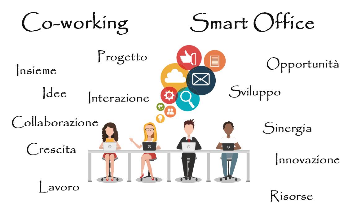 Uffici flessibili a Pompei